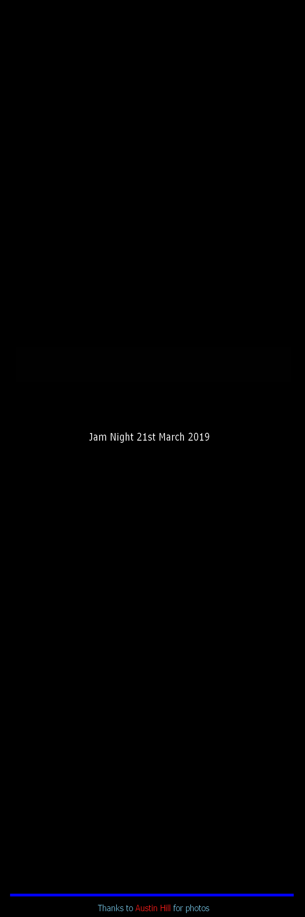 Jam Night 21st March 2019